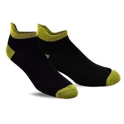 TeeHee Men's Golf No Show Socks Assorted