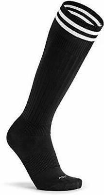 TESLA Men's soccer socks soccer stockings [antibacterial, q