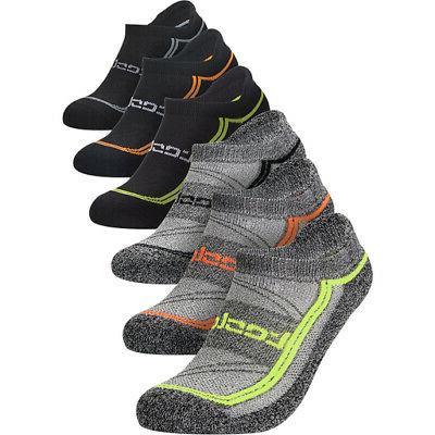 Tesla TM-MZS06 Athletic Socks Set - - 6-Pack