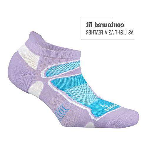 Balega Ultra Light No-Show Running Sock Black/Lime,