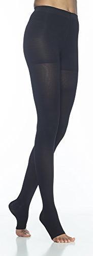 SIGVARIS Women's ACCESS 970 Open-Toe Pantyhose Medical Compr