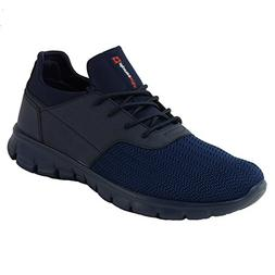 Alpine Swiss Leo Men Sneakers Flex Knit Tennis Shoes Casual