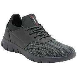 Alpine Swiss Leo Men Sneakers Flex Knit Tennis Shoes Casual