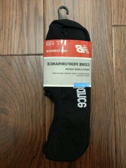 New Balance Liner No Show Socks 3 Pairs Core Performance Bla