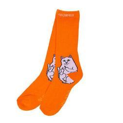 lord nermal crew socks light orange men