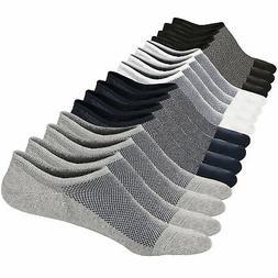 M&Z Mens Ankle Low Cut Socks Super Comfy Cotton Casual Non-S