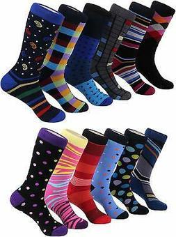 Marino Men's Dress Socks - Colorful Funky Socks for Men - Co