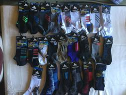 Adidas Men Performance Quarter, No Show, Crew Socks Climacoo