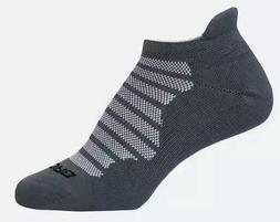 Brooks Men's 1 Pair Glycerin Midweight Socks - Asphalt Size