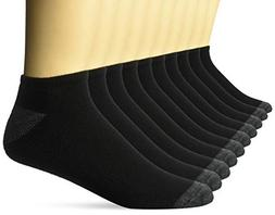 Amazon Essentials Men's 10-Pack Cotton Lightly Cushioned Low