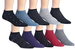 James FialloMen's 10 Pairs Extra Lightweight Fashion Color
