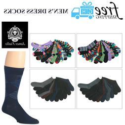 Men's James Fiallo 12 Pack Colored Dress Socks