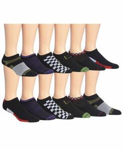 James Fiallo Men's 12-Pairs Low Cut Athletic Sport Socks