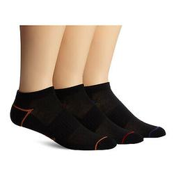 Dockers Men's 3-Pack Ultimate Fit Liner Low Cut Socks