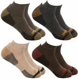 Timberland Men's 4-Pack Comfort No Show Socks