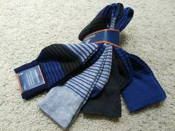 Dockers Men's 4 Pack Dress Socks Blue Gray Sock Sz10-13 Shoe