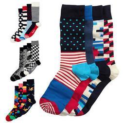 Happy Socks Men's 4-Pack Gift Set