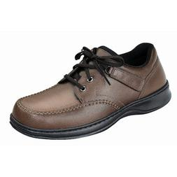 Orthofeet Men's 462,Brown Leather,US 10 XW