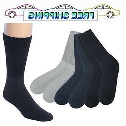 James Fiallo Men's 6 Pack Diabetic Dress Socks