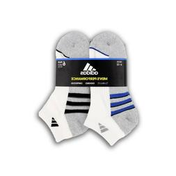 Adidas Men's 6-pair Low Cut Sock with Climalite White - Shoe