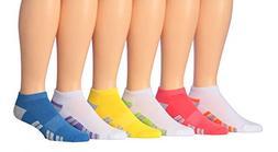 James Fiallo Men's 6-Pairs Low Cut Athletic Sport Socks