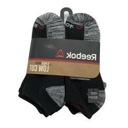 Reebok Men's 8 Pack Low Cut Performance Socks BRAND NEW