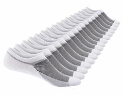 SIXDAYSOX Men's 8 Pairs No Show Odor-Resistant Non Slip Sock