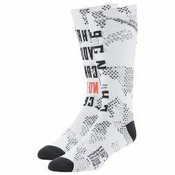 men s active enhanced printed crew socks
