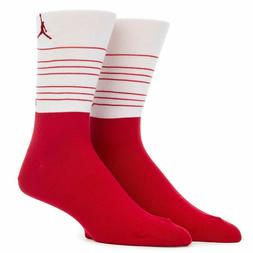 Nike Men's Air Jordan RETRO 13 CREW SOCKS Red/White SX6077-6