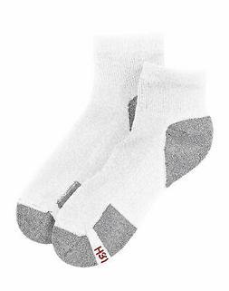 Hanes Men's Ankle Socks 6-Pack ComfortBlend Comfort Durable
