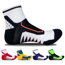 Men's Ankle Socks Sport Running Cycling Crew Casual Bicycle