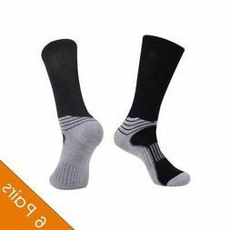 Men's Athletic Socks 6 Pack Crew Socks Men Pack Mens' Arch C