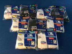 men's athletic socks: lycra,durable cushioned soles,ankles,