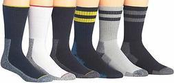 James Fiallo Men's Comfortable Hiking & Outdoor Crew Socks,