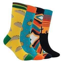 men s cool colorful casual socks novelty