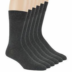 Men's Cotton 6 Pack Dress Breathable Casual Comfort Socks La