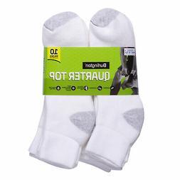 Burlington Men's Cotton Quarter Socks Comfort Power