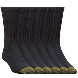 Gold Toe Men's Cotton Crew Premium 656s Athletic Socks 3 Pai