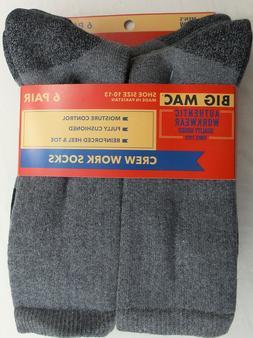 men s crew boot work socks large