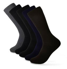 Men's Crew Cotton Socks for Every Occasion Work | Size 10-13