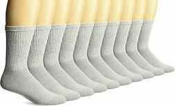 Gildan Men's Crew Socks, 10 Pairs
