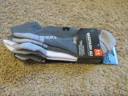 adidas Men's Cushioned No Show Socks, 3 Pairs, 2 Colors size