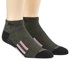 ADIDAS Men's Cushioned Traxion Low Cut Socks Black/Grey Comp