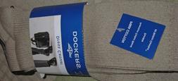 Men's Dress Casual Socks 2 Pack Dockers KHAKI Fits Size 8 to