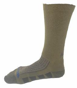 Bates Men's EPS Moisture Wicking 2 Pack Socks Coyote Brown S