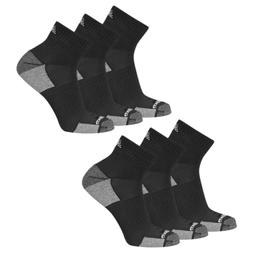 New Balance Men's Essentials Cushioned Ankle Socks 6 Pair