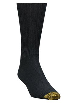 Gold Toe Men's Fluffies Crew Casual Socks 520s - 4 Colors