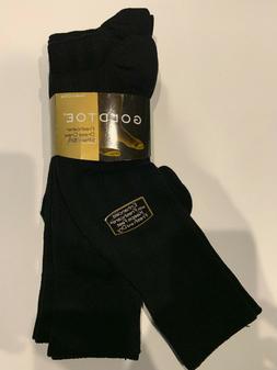 GOLD TOE Men's Freshcare Dress Crew Socks 3 Pair Goldtoe Soc