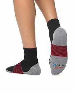 Hanes Men's FreshIQ X-Temp Active Cool Ankle Socks 4-Pack