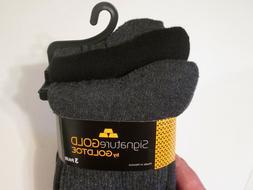 Men's Gold Toe Gray 3 Pack Cushion Reinforced Toe Perfect Fi